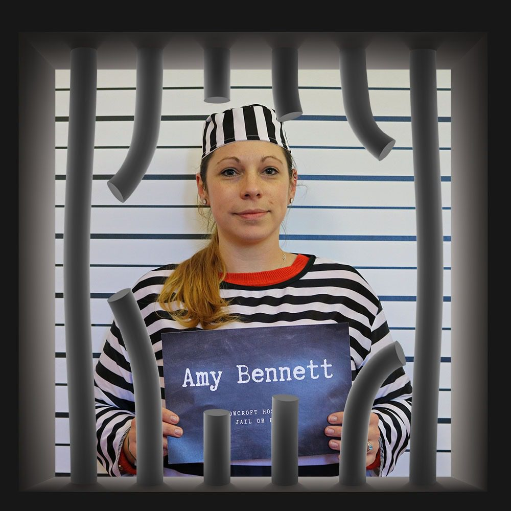 Rowcroft Hospice Jail or Bail Amy Bennettt
