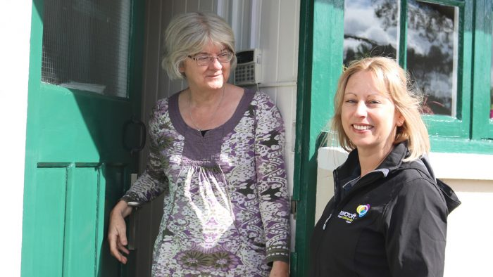 Rowcroft Hospice Community Team visit patient home