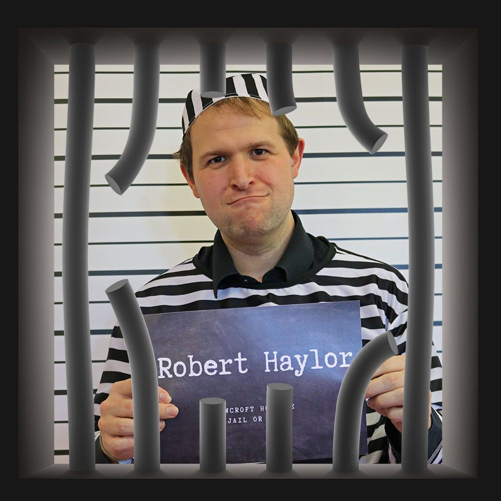 Rowcroft Hospice Jail or Bail Robert Taylor