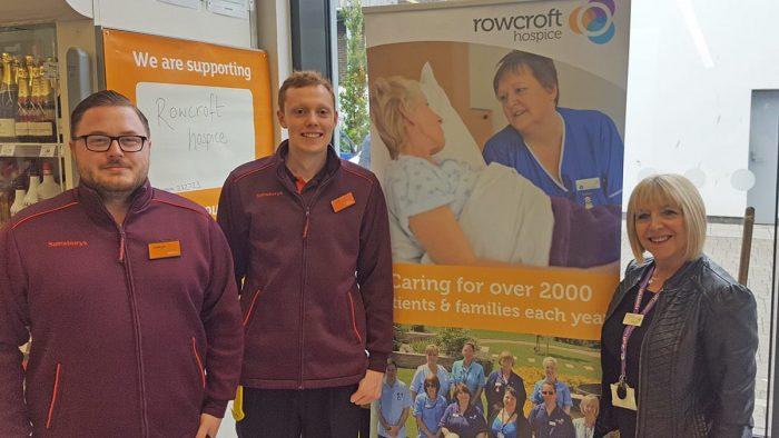 Sainsburys Support Rowcroft Hospice