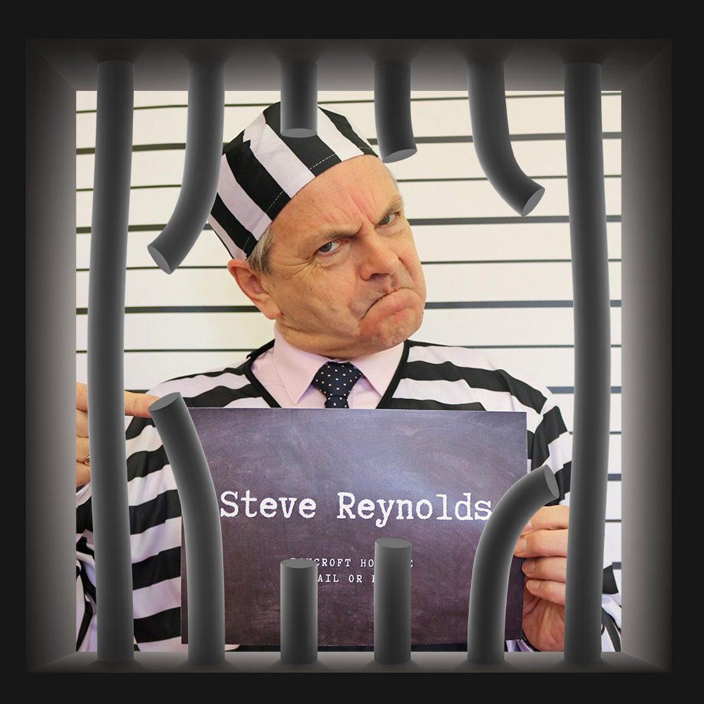 Rowcroft Hospice Jail Bail 2020 Steve Reynolds