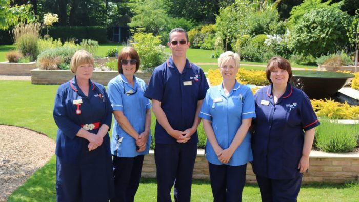 Rowcroft's Hospice at Home Team